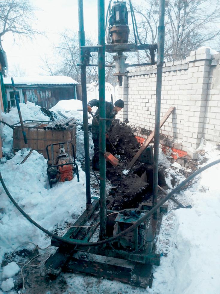 Бурение артезианских скважин в Харькове